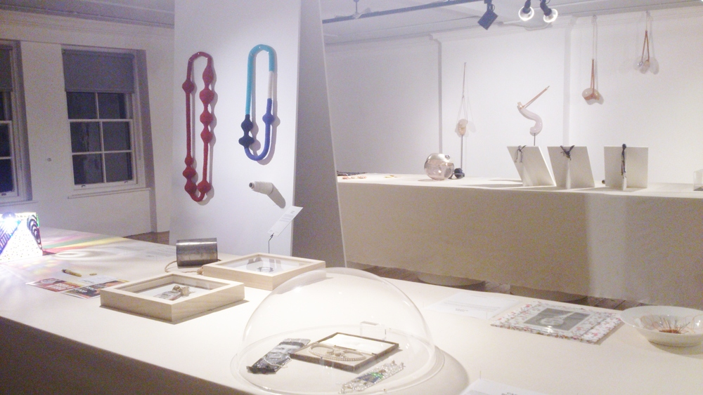 Beautiful Objects jewellery exhibition at Aram