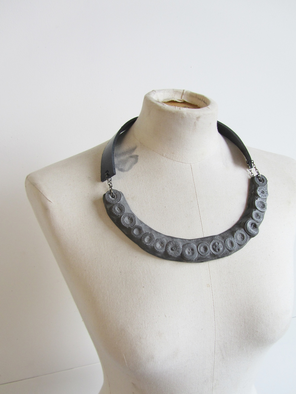 jade mellor button leather resin necklace.JPG