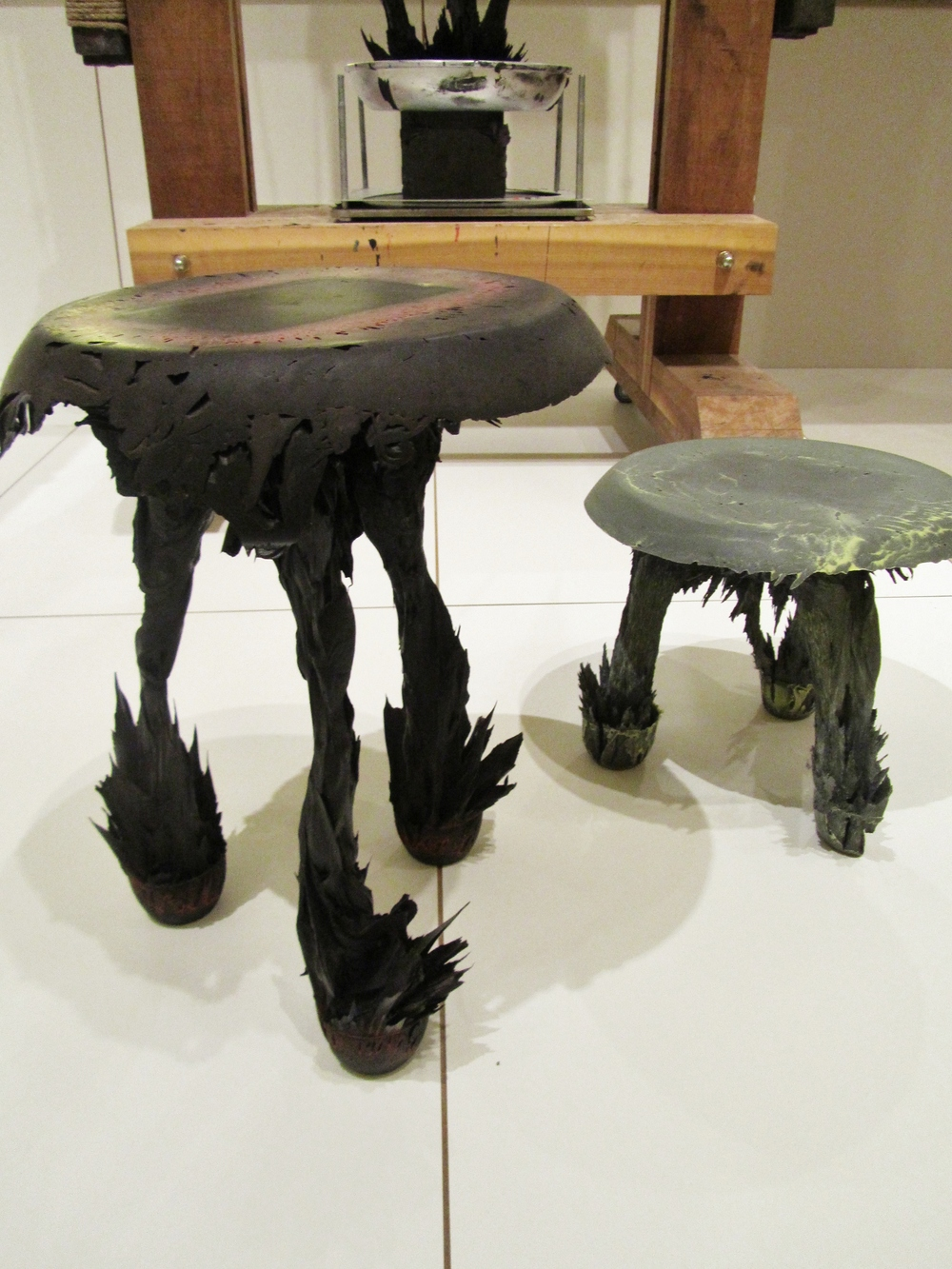 Jólan van der Wiel gravity stools design museum.JPG