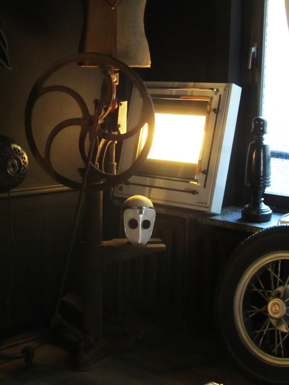 Designpanoptikum - surreales Museum für industrielle Objekte drill.JPG