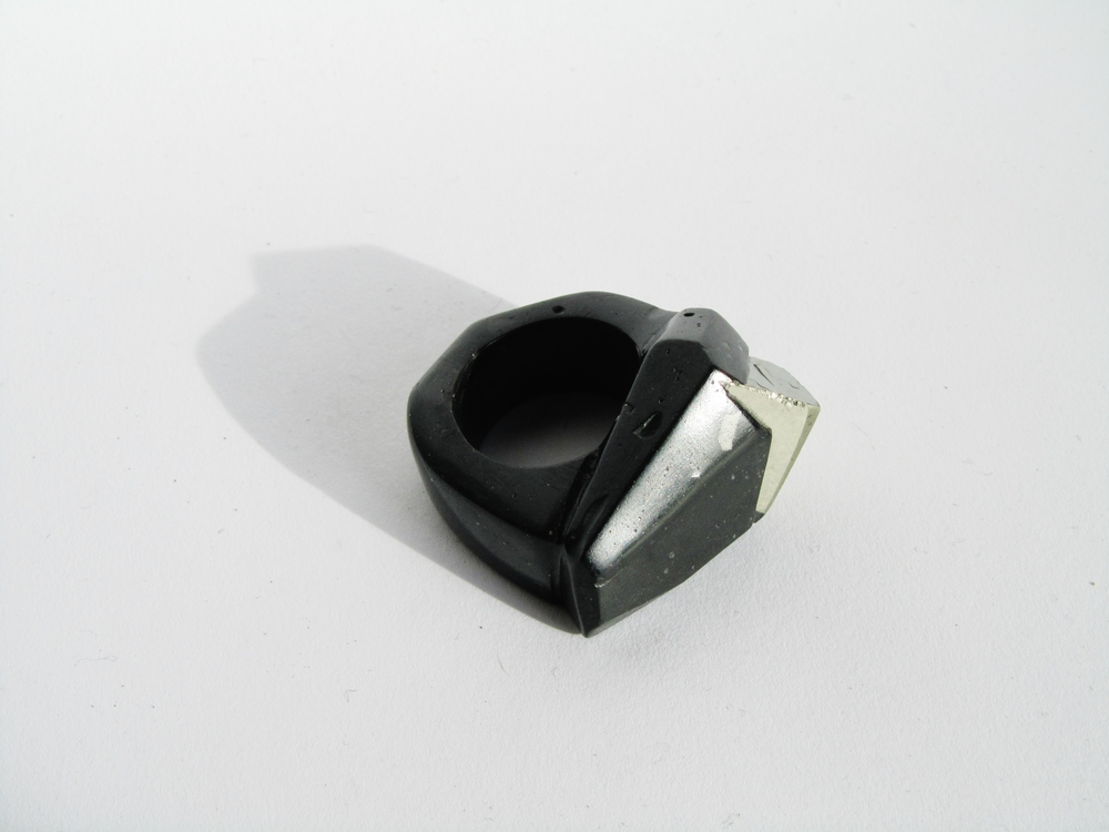 jade mellor pyrite fools gold ring craft culture.JPG