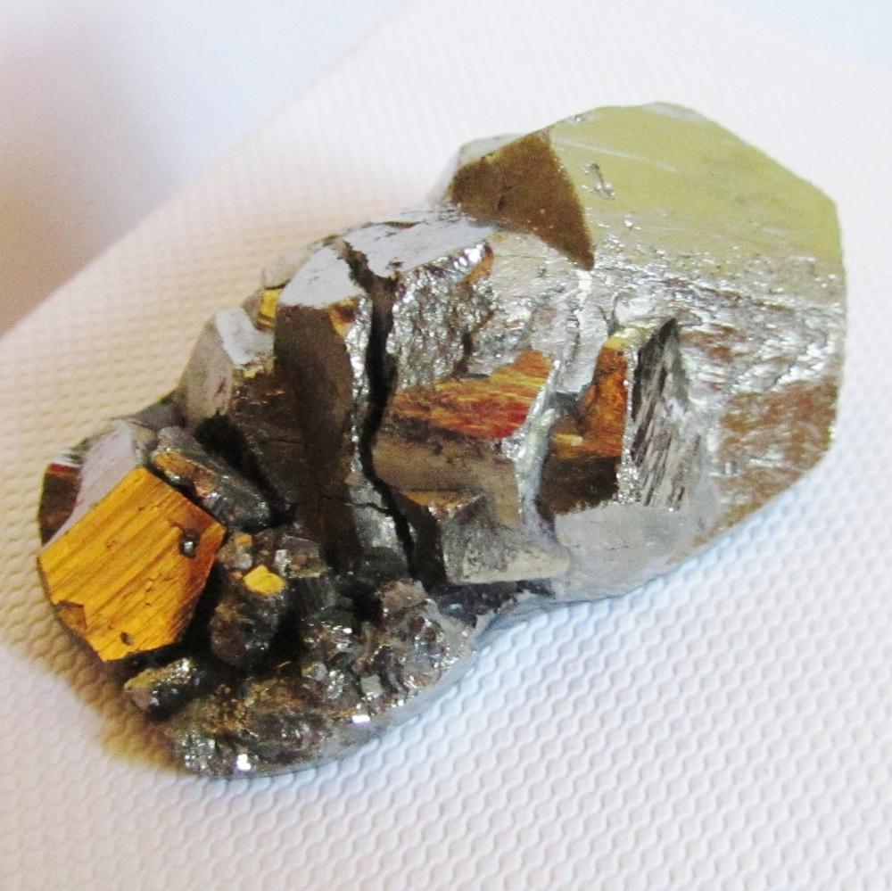 An pyrite specimen I used recently for a bespoke ring.