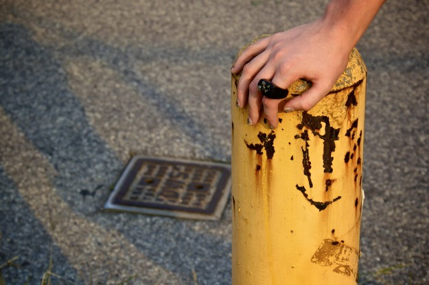 hewn ring yellow bollard nyc.jpg
