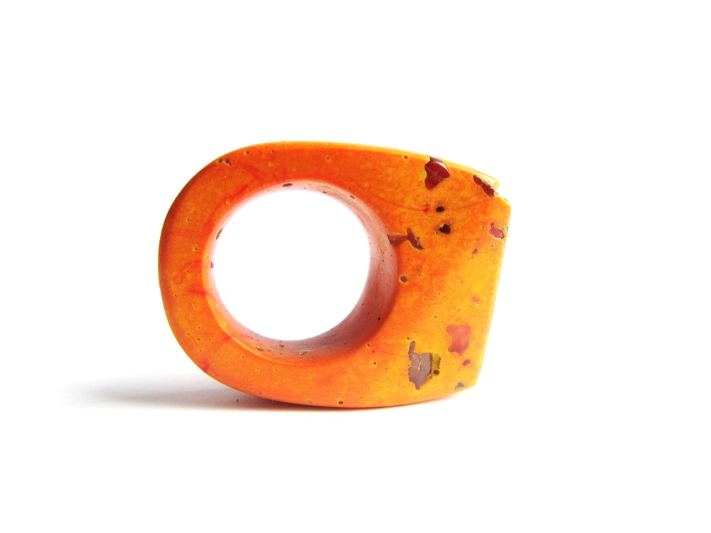 orange jade mellor hewn ring.JPG