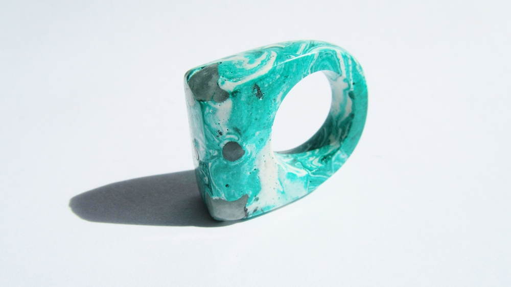 jade mellor hewn ring white malachite quartz P-Q 3.JPG