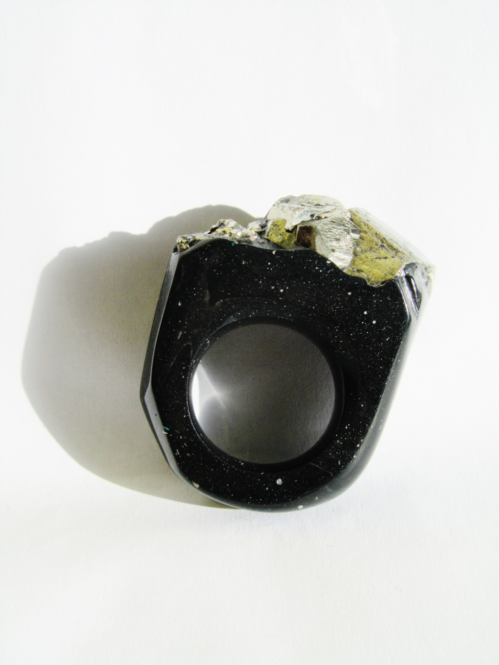 bespoke ring black pyrite nugget.JPG