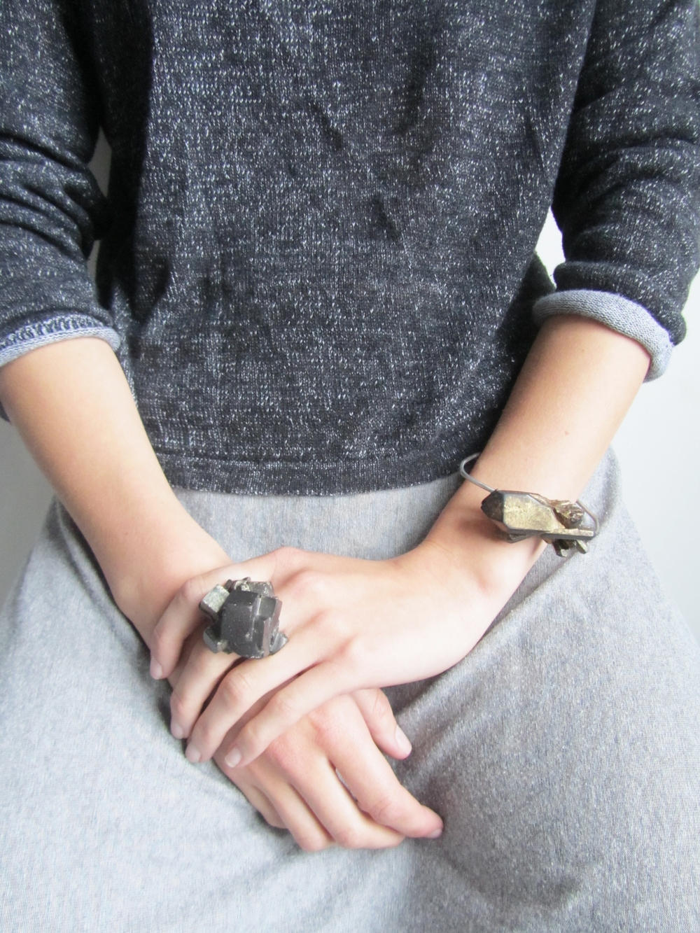 jade mellor lookbook shard bracelet ring worn.JPG