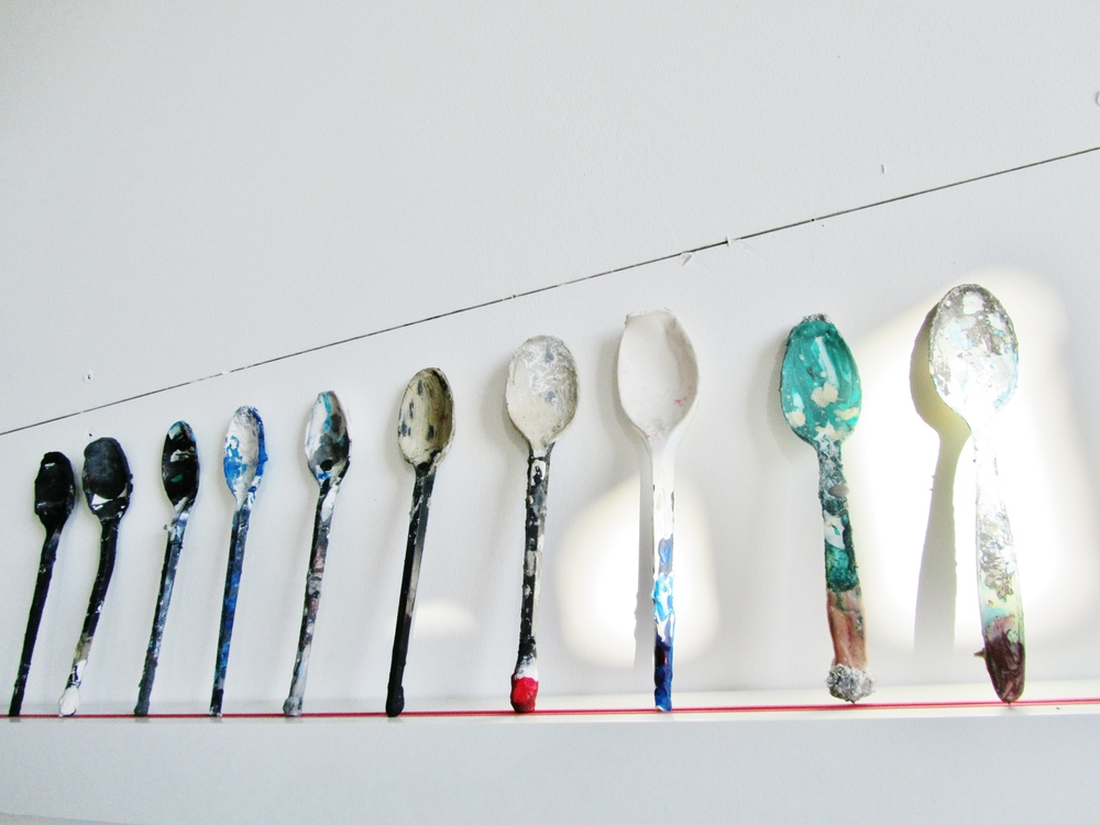 Spoons in my studio