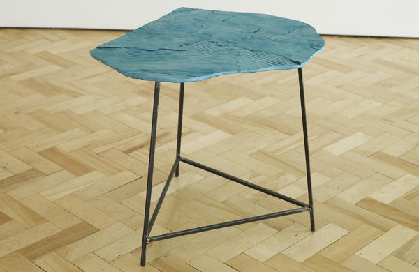"""Wooden Table"", Peter Marigold, Libby Sellers Gallery"