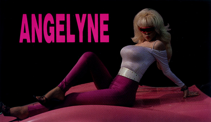 angelyne postcard