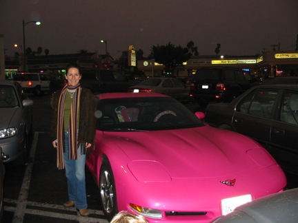 pink vette & me