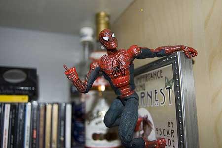 spiderman isn't happy