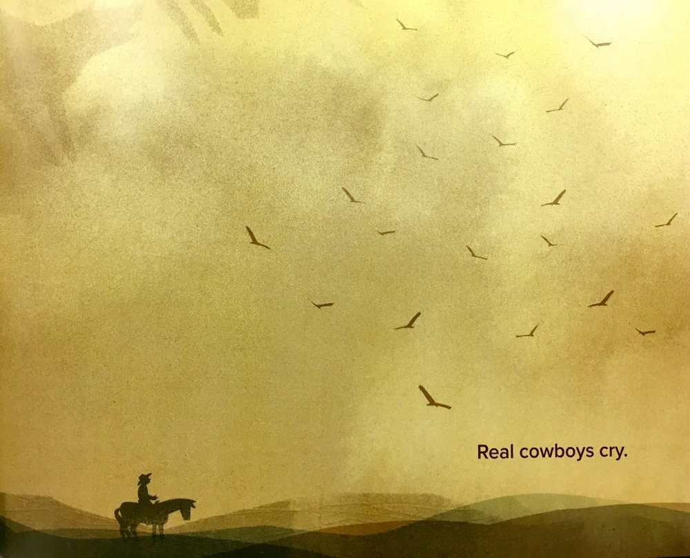 This book offers us a  quiet peek behind the popular myths of cowboys,  adding texture to our understanding of cowboy life, including pointing out that cowboys are as complex and diverse as the rest of us--men and women, boys and girls.