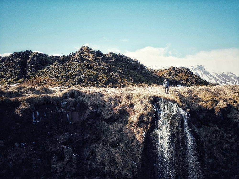 waterfalls in snæfellsnes