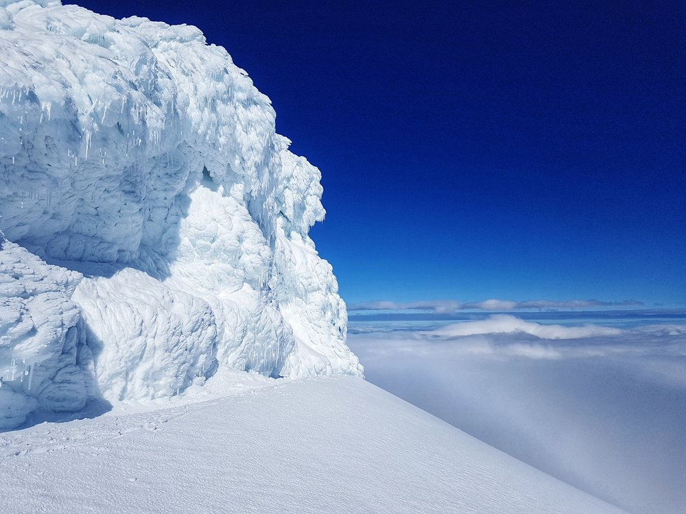 The Icy Snæfellsjökull Glacier Summit