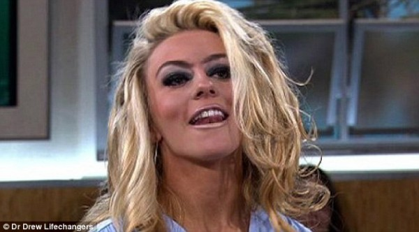 I couldn't find a picture of a lifeless husk, but I think this picture of Courtney Stodden works pretty well.