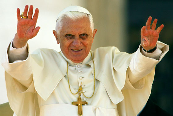 To be honest, he's one of our creepier looking Popes...