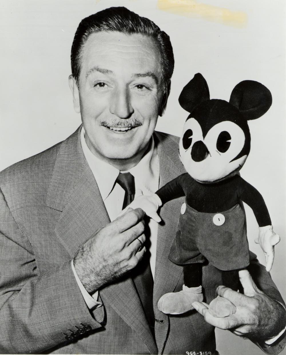 Walt Disney: Not Kanye. Also, not frozen. That's a myth, sorry.