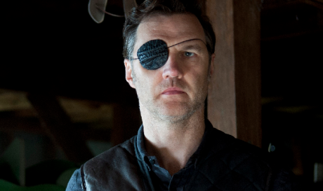 Look at him with that eye patch. Damn, he is stylish.