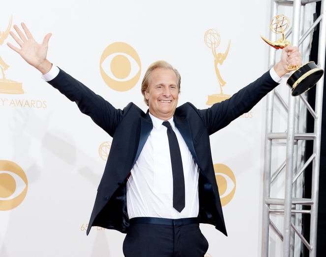 Jeff Danials at Emmy's