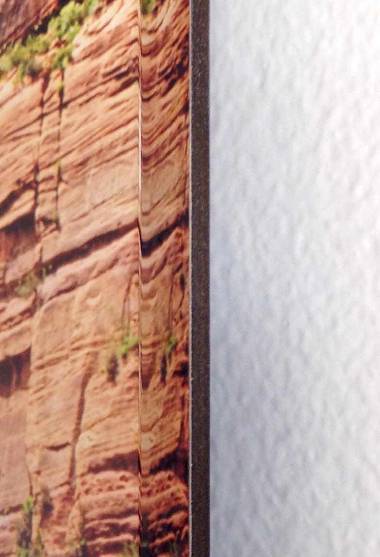 Acrylic Museum Sandwich Edge detal