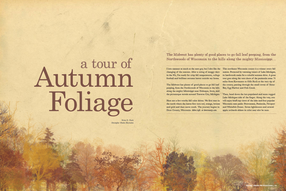A Tour of Autumn Foliage