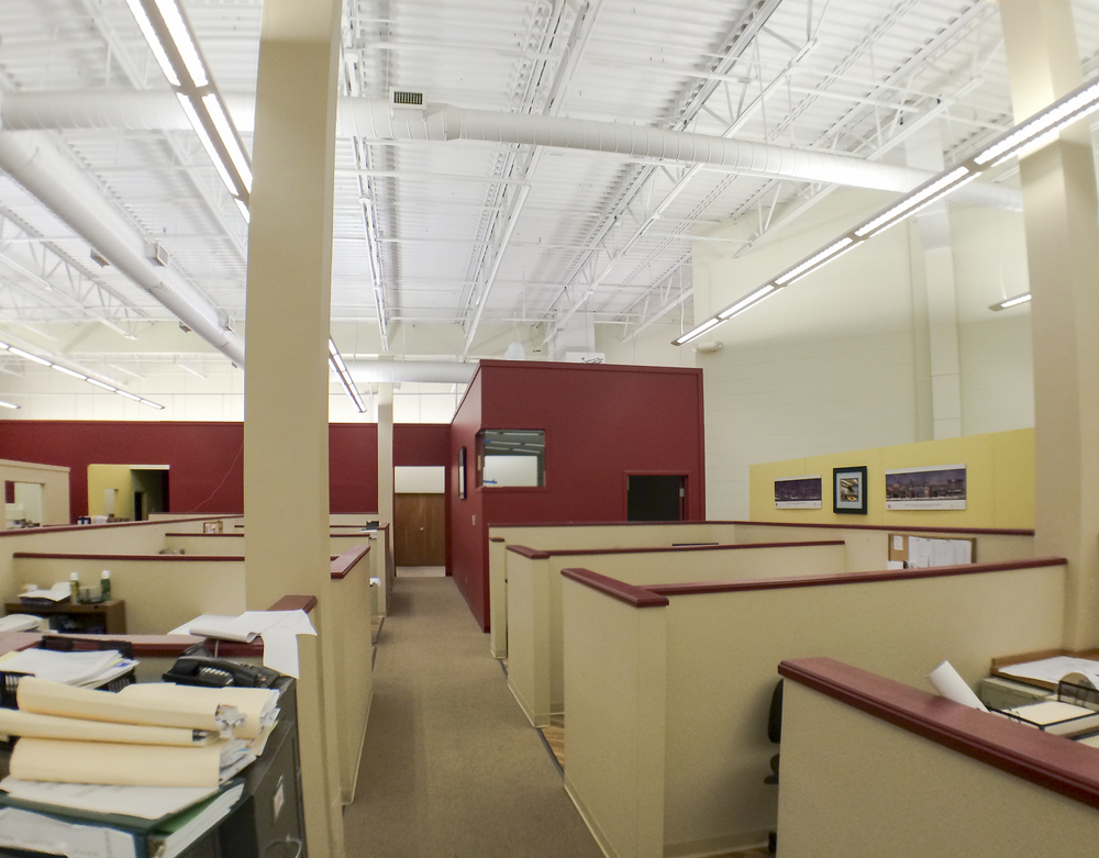 Marketing Office (back, right - the Red office