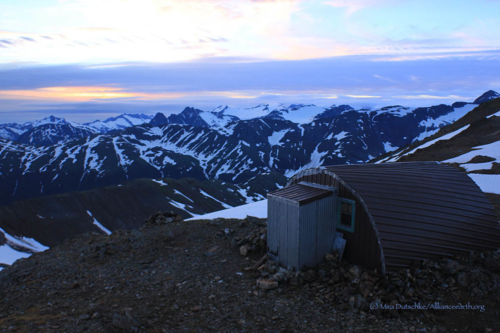 The Jamesway bunkhouse at Camp 17.  Photo:  Mira Dutschke