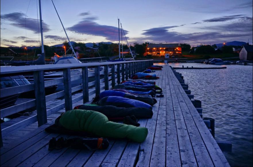 The best sleeping spots around (Photo: Alex Mischler).