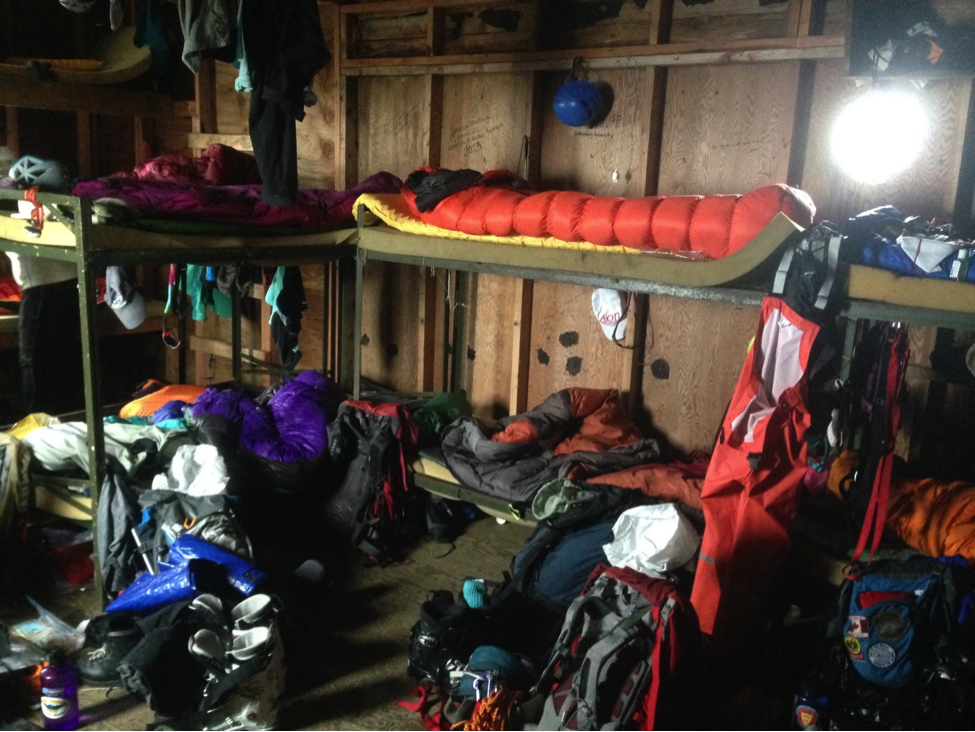 Our close living quarters. Photo courtesy of Laurel Rand-Lewis.