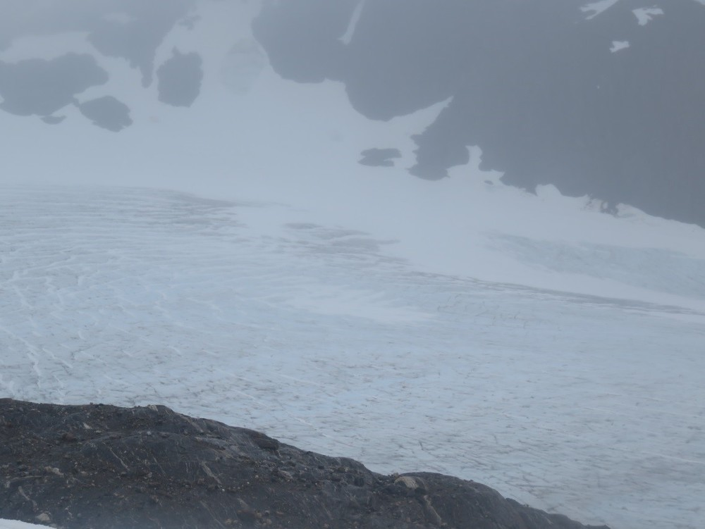 Exposed Blue Ice on the Lemon Creek Glacier