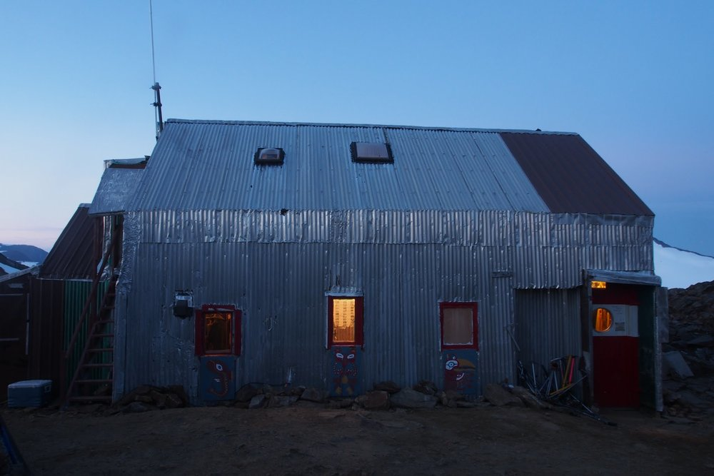 Cook Shack at one of our research stations. Photo by Dr. Allen Pope.