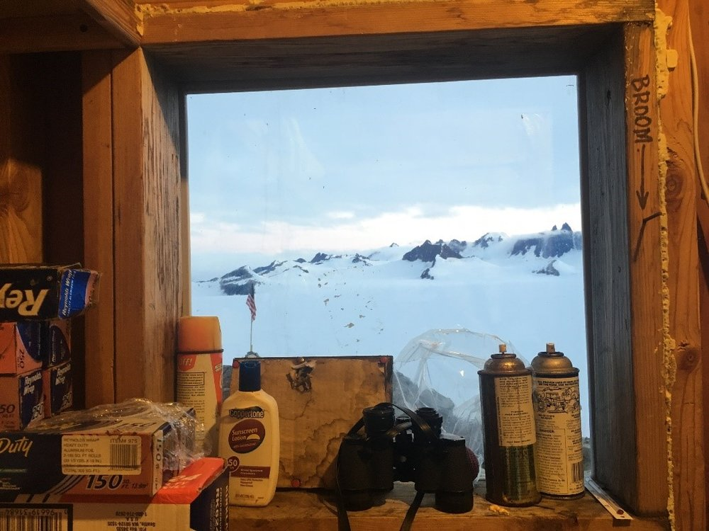 Store room window, Camp 10. Photo credit: Crystal Yong