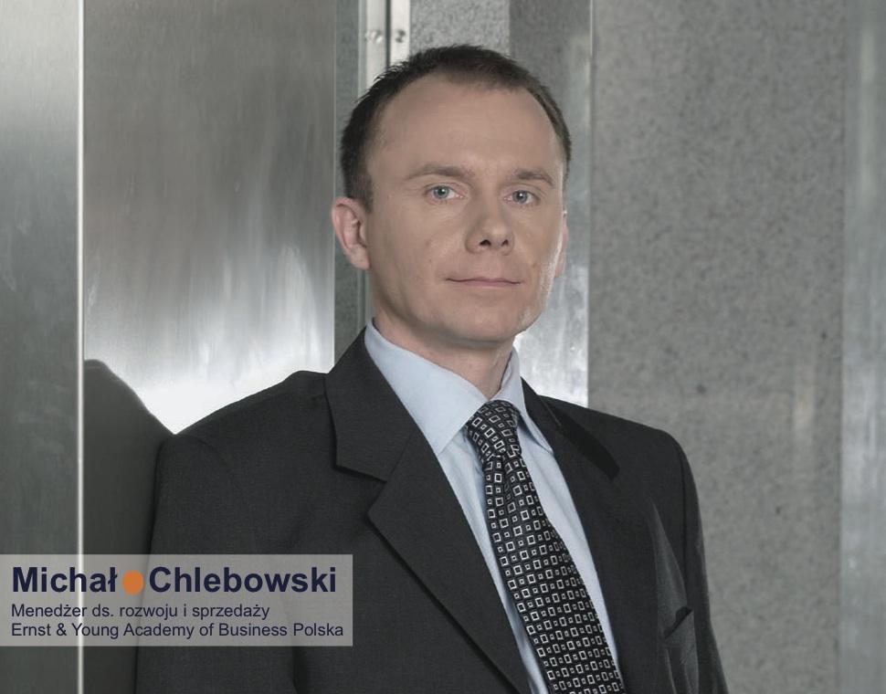 Michał Chlebowski, Menedżer ds. Rozwoju i Sprzedaży, Ernst & Young Academy of Business