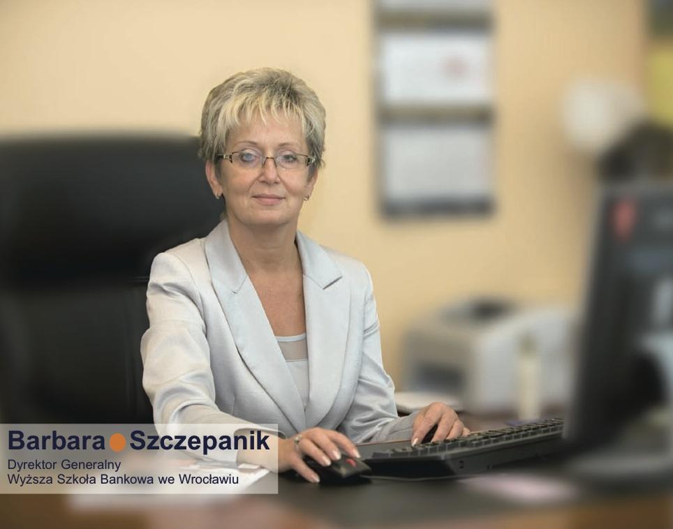 Barbara Szczepanik, Wicekanclerz, Wyższa Szkoła Bankowa we Wrocławiu