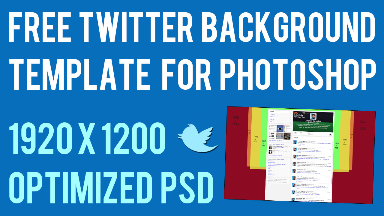 twitter background template psd 2014 1920 x 1200 photoshop