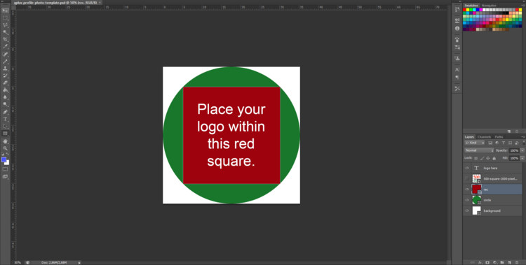 google plus profile photo square logo in circle