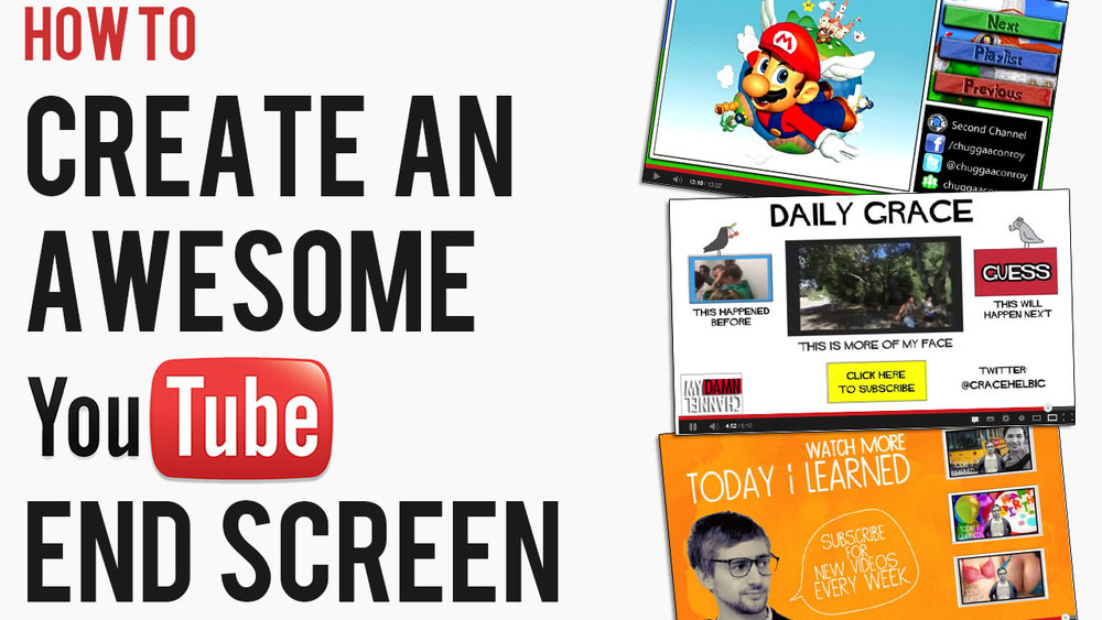 5 examples of top youtube end screens how to make a great youtube end card andrew macarthy. Black Bedroom Furniture Sets. Home Design Ideas