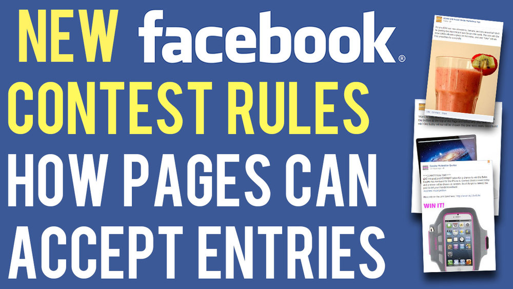 Facebook 39 s new contest rules how business pages can for Facebook photo contest rules template