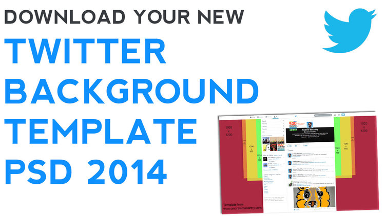 twitter background template 2014 2015 psd 1920 x 1200 photoshop