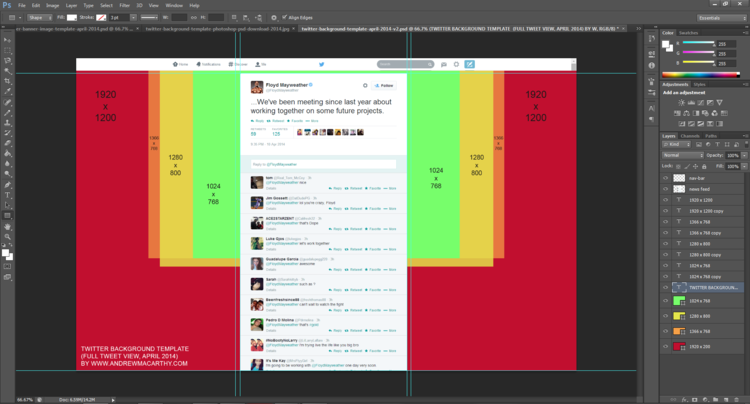 new twitter background template 2014 psd 1920 x 1200 photoshop