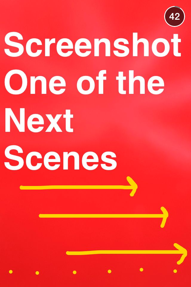 How To Use Screenshots And Chat For Snapchat Contests Mcdonalds