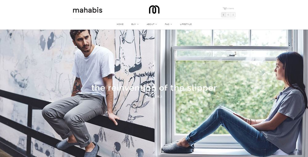 Mahabis website