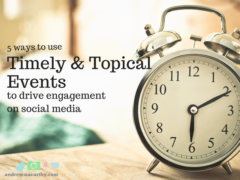 5 Ways to Use Timely and Topical Events to Drive Engagement on Social Media (Innocent Case Study)