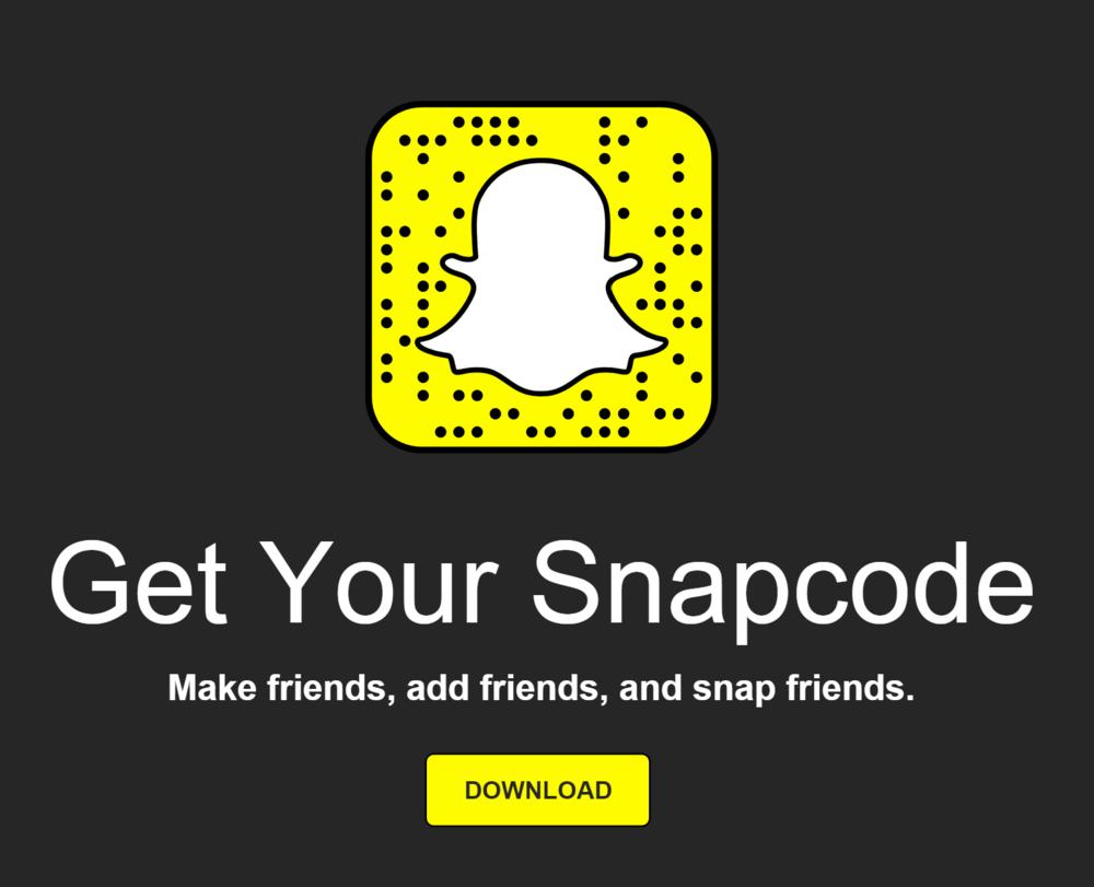 My snapcode