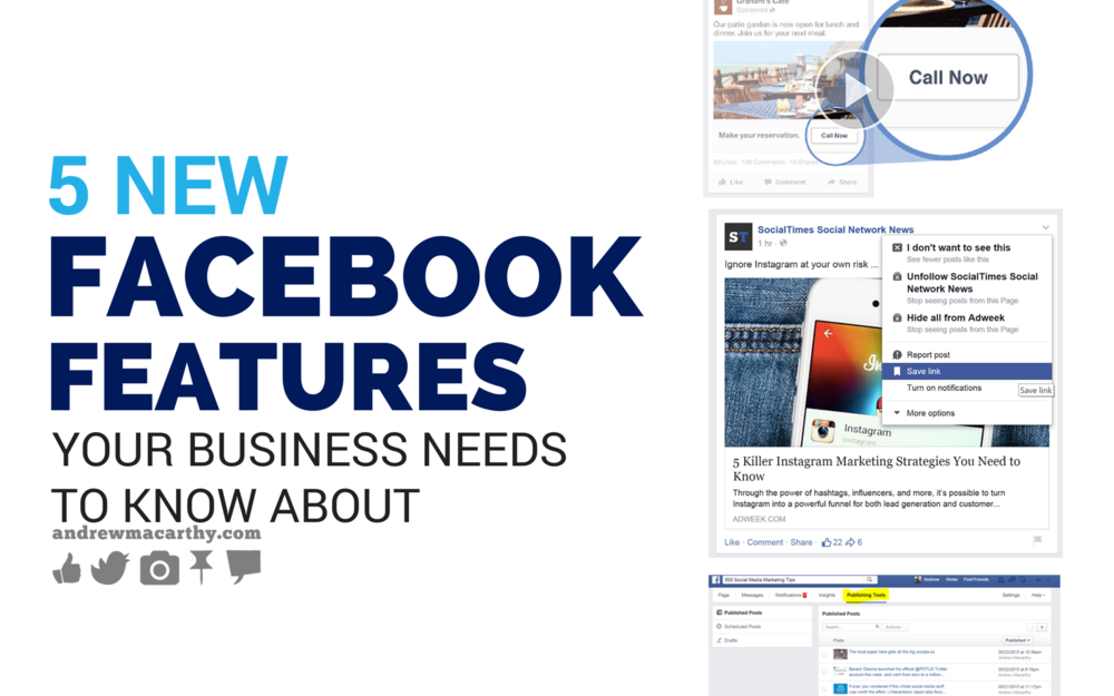 5 Awesome New Facebook Features That Your Business Need to Know About