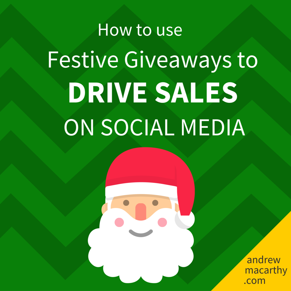 How to Use Festive Giveaways to Drive Sales on Social Media This Christmas (5 Real Examples)