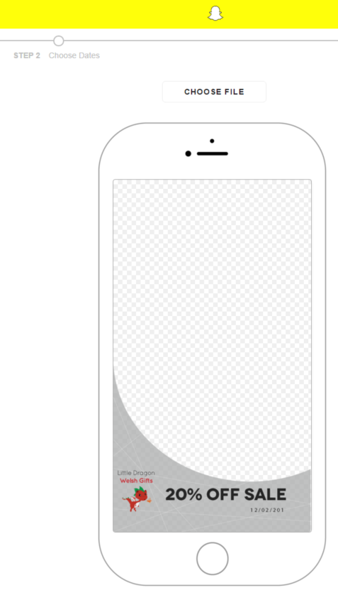 how to create a snapchat geofilter on photoshop