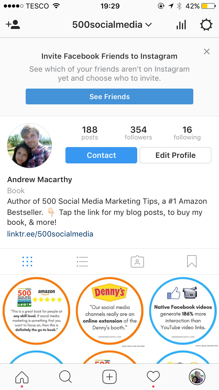 How to add more than one clickable link to your instagram profile you place a link in your instagram bio as normal but it is tied to your linktree account ccuart Gallery