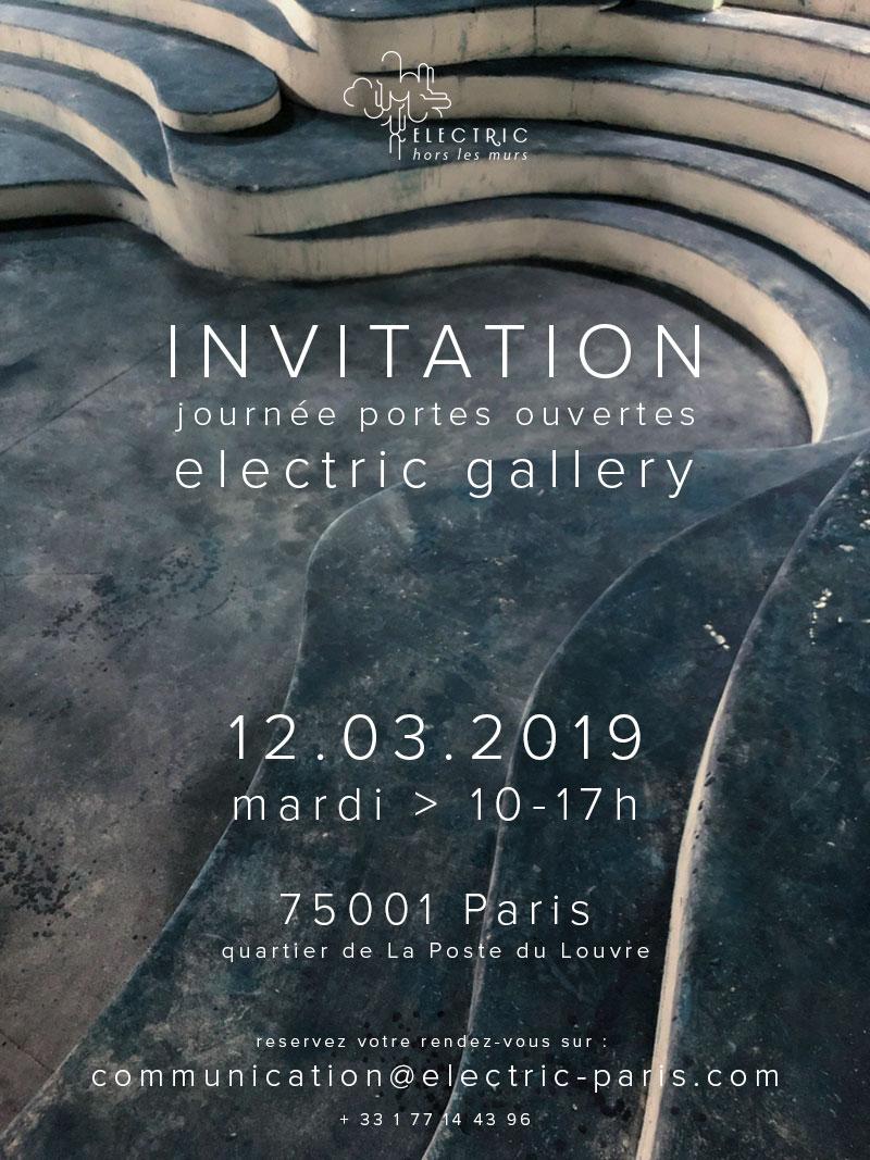 invitation Electric Gallery